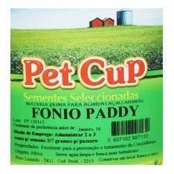 PET CUP FONIO PADDY 2 KG.